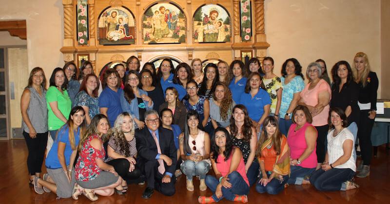 CHI St. Josephs Staff Group Photo