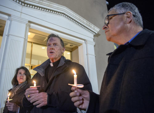 CHI St. Joseph's Children vigil - ABQ Journal